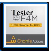 Sección F4mtester Addon Kodi